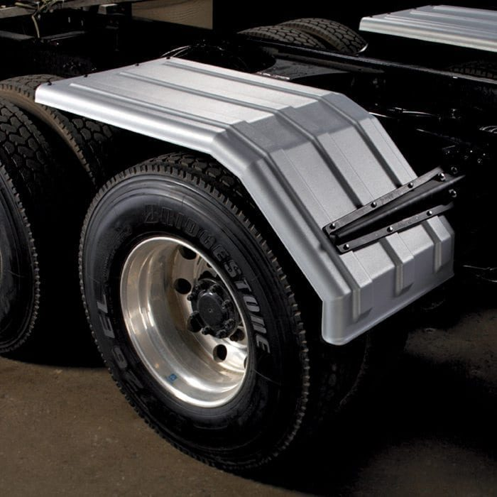 """Poly Fender for 22.5"""" or 24.5"""" duals (White)"""