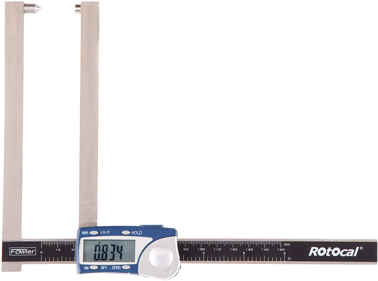 Extended Jaw Rotocal Electronic Rotor Gauge
