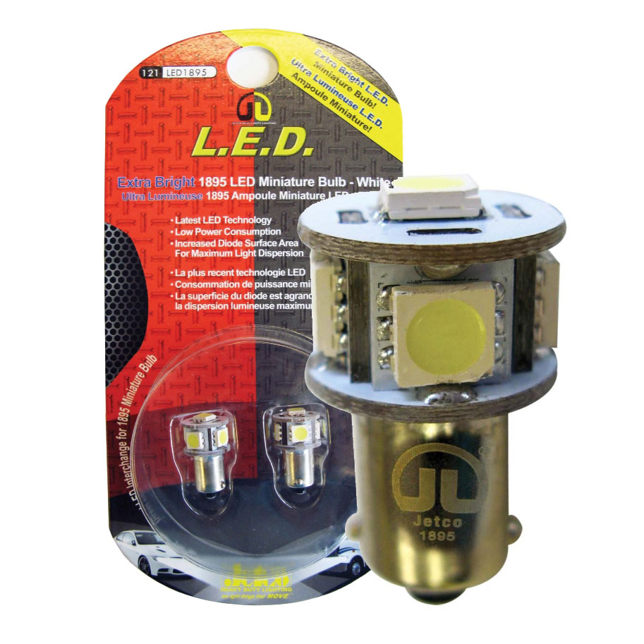 LED #1895 White Mini Bulb