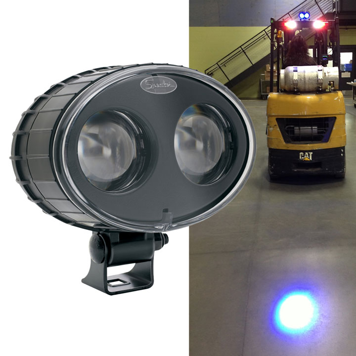 LED Forklift Safety/Warning Spot Light