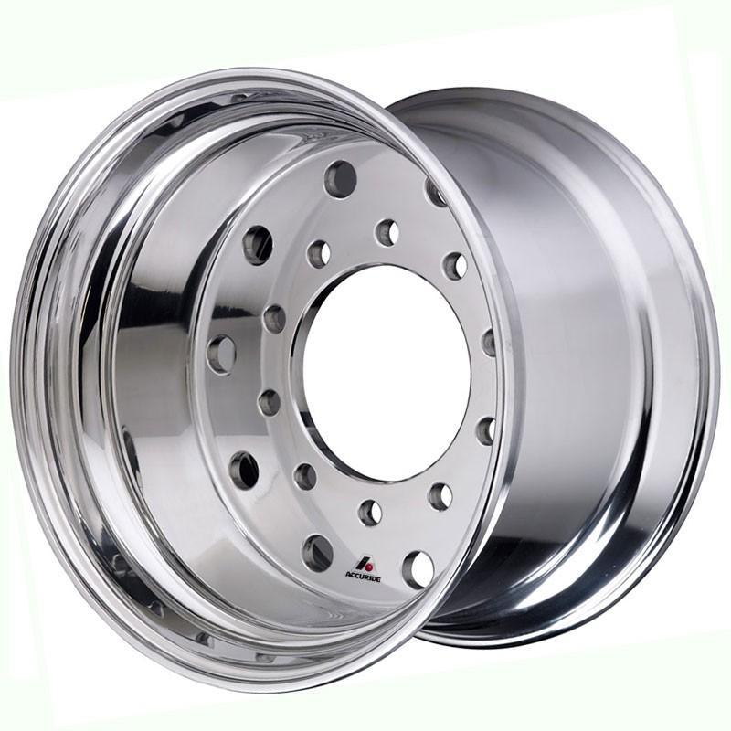 Duplex 22.5x14 Hub-Piloted Aluminum Wheel