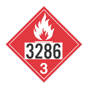Flammable Liquids Placards
