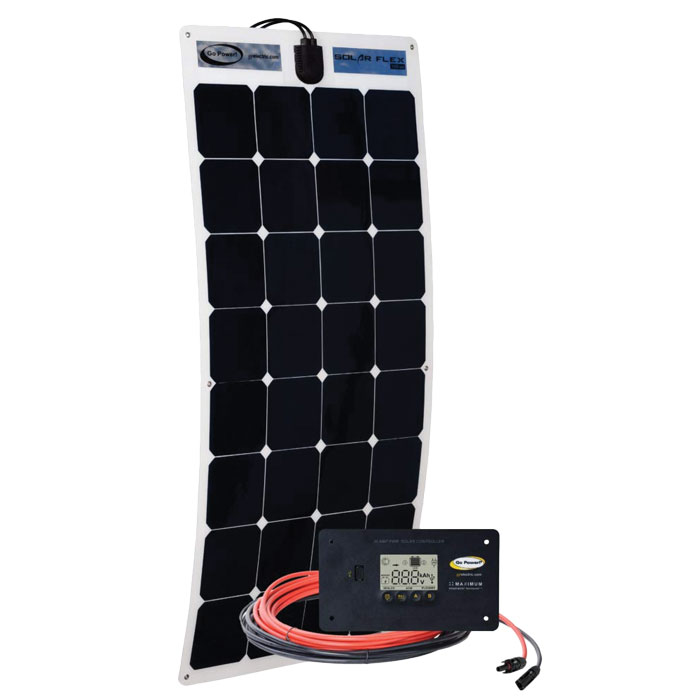 100-watt Flexible Solar Kit