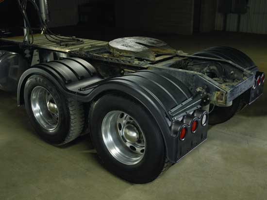 Poly Fender Tandem Axle Kit