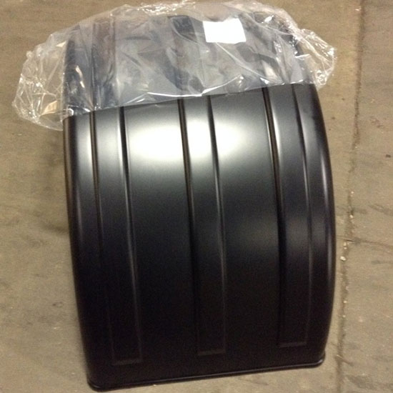 Poly Dual Fender Paintable
