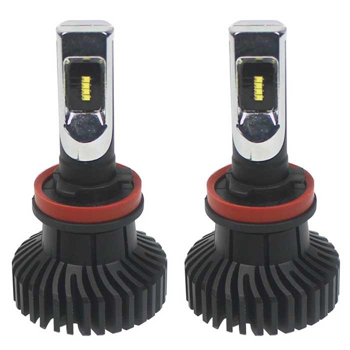 H11 LED Replacement Headlight Bulbs - 5K