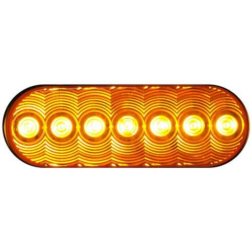 Amber Oval LumenX® LED Turn Signal