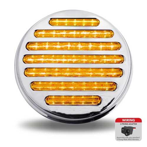 4 Flatline Clear Amber LED Tail Light