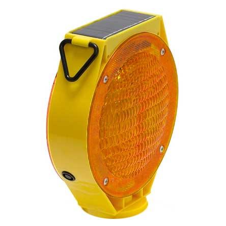Solar Powered LED Barricade Light