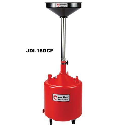 18-Gallon Portable Oil Drain Pan