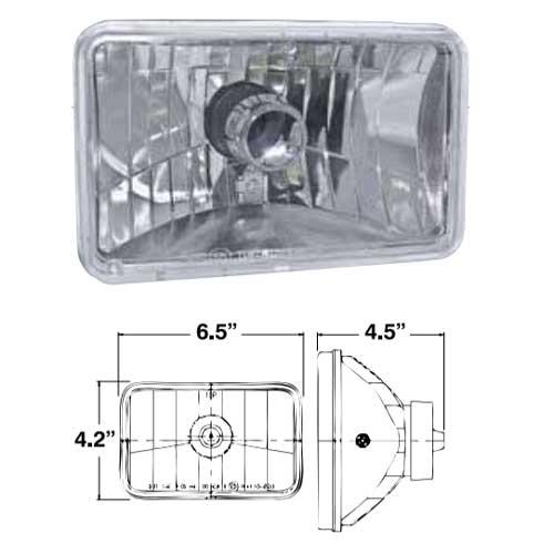 """4"""" x 6"""" Halogen Headlight Kit"""